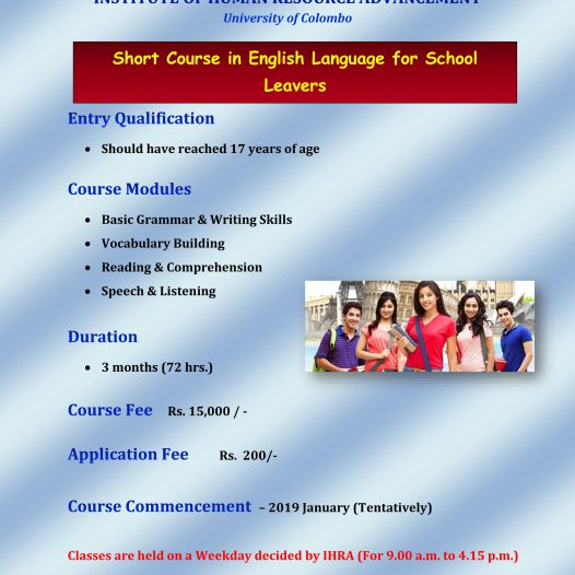 Short Course in English for School Leavers