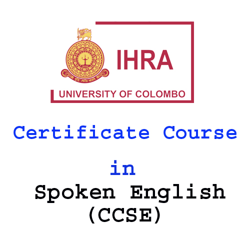 Certificate Course in Spoken English (CCSE)