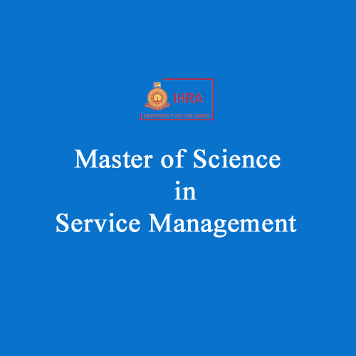 Master of Science in Service Management (MSc SM)