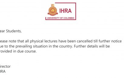 Notice for all Students