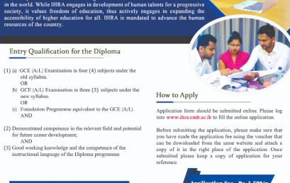 Diploma in Service Management (2021 Intake)