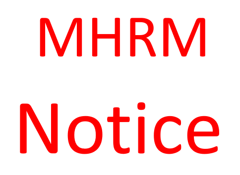 MHRM -Course No. 10,  2nd Trimester Examination-March/ April 2021
