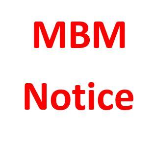 MBM – Course No. 08/2019 2nd Trimester Examination – March/April 2021