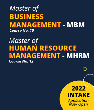 MBM & MHRM – 2022 Intake Application Now Open